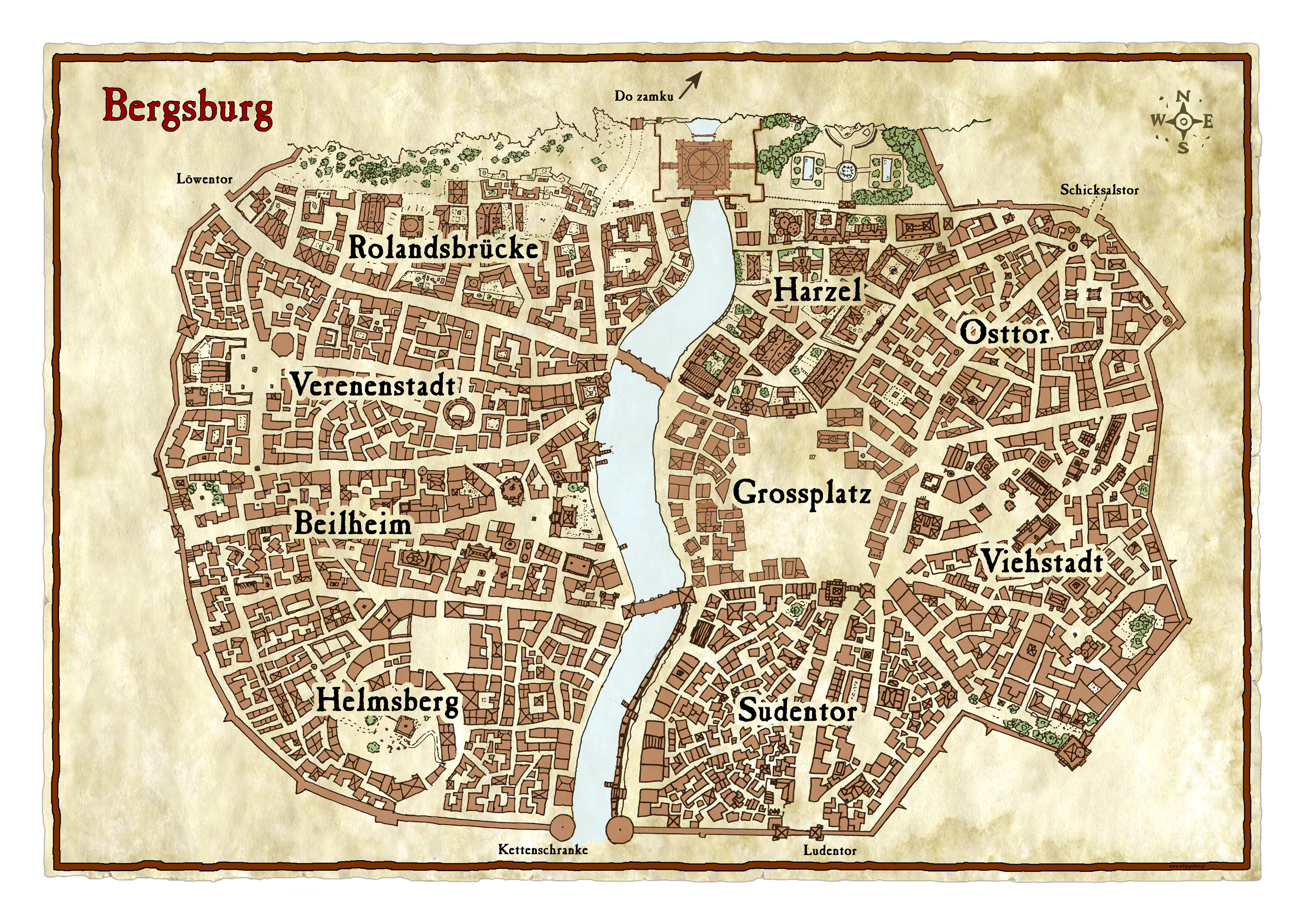 Town maps/layouts required please! *a cry for town flavour help ...